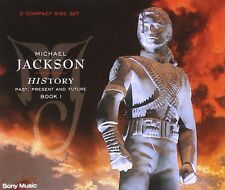 MICHAEL JACKSON 'HISTORY-PAST PRESENT & FUTURE' 2 CD