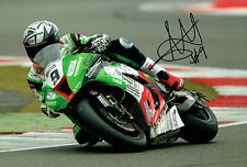 Chris WALKER Autograph 12x8 Signed Kawasaki BSB Superbike Photo AFTAL COA