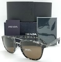 New Prada sunglasses PR12TS VH38C1 Black Tortoise Double PR12 Classic AUTHENTIC