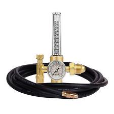 Argon Regulator TIG Welder MIG CO2 10' Hose, 50-38 SCFH - 25 psig