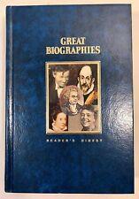 Readers Digest Great Biographies BENJAMIN FRANKLIN ELEANOR ROOSEVELT WILL ROGERS