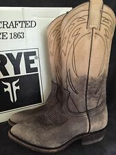 FRYE 77713 Womens Billy Pull On Stone Colored Leather Boots Shoes US 6.5 M NWB