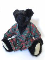 The Green Mountain Bears 1993 VTG Carol Carini by Mary Meyers Jointed Bath Robe