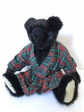The Green Mountain Bears 1993 Carol Carini by Mary Meyers Jointed Bath Robe Vtg