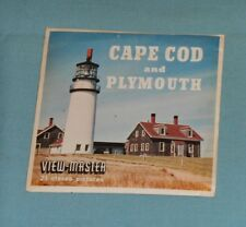 vintage CAPE COD AND PLYMOUTH Massachusetts VIEW-MASTER REELS packet