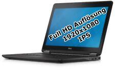 """Dell Latitude E7250 i5 5300U 2,3GHz 16GB 512GB SSD 12,5""""  Win 7 Pro IPS 1920x108"""
