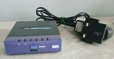 More details for linksys printserver usb psus4 switch 4 ports (psus4 used)  w/o psu with power