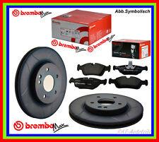 2 x Brembo Max SPORT Bremsscheiben+Bremsbelägesatz VA HONDA CIVIC CR X II III