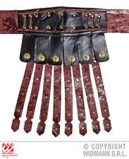 Leather Look Roman Apron & Belt Gladiator Ancient Greek Fancy Dress Accessory
