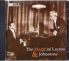 THE MAGIC OF  LAYTON & JOHNSTONE - NOSTALGIA  CD - FREE POST IN UK