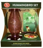 Woodstream Corp Hummingbird Feeder Vintage Set- 2 Colors 1 Will be Received