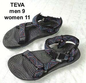 Teva Terradactyl Rubber Sole Adjustable Strap Sport Sandals Shoes - Mens Size 9