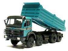 NZG 937 20 mercedes benz arocs Big Space SLT 4 alineación azul 1:50 tractor nuevo