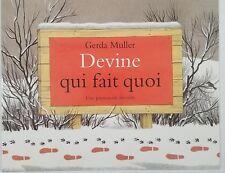 French Book - Devine qui fait quoi by Gerda Muller