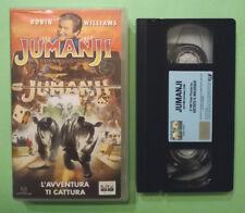 VHS FILM Ita Commedia JUMANJI robin williams ex nolo no dvd lp cd mc 45 (V153)