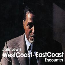 West Coast East Coast Encounter by John Lewis (CD, Jun-2005, Gambit)
