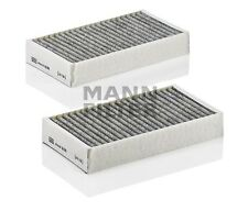 Mercedes Benz Activated Charcoal Cabin Air Filter (Set Of 2 ) MANN CUK2646-2