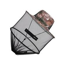 Leaves Camo Hat Anti Mosquito Bee Head Face Net for Camping Hunting Fishing