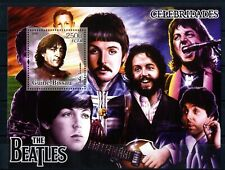 The Beatles Guinea Bissau 2005 Celebridades sellos stamps music