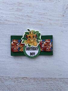Lion King/ Safari Birthday Corsage,Birthday Boy Corsage Pin ,Birthday Badge