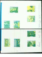 Rwanda 1980 Impressionists COMPOSITE PROOF SHEETS