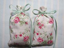 """Ivory 4""""X2"""" Sachet-'Honeysuckle Rose' Fragrance-Rose Sachet-Handmade-072"""