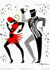 The Cake Walk Art Poster Print by Ty Wilson, 5x7