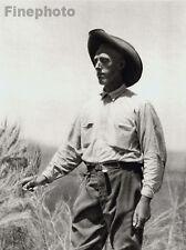 1926 Vintage Print UTAH Cowboy Western Male Man Ranch Photography Art E.O. HOPPE