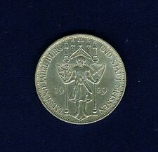 "GERMANY WEIMAR 1929-E 3 REICHMARKS, UNCIRCULATED, ""MEISSEN"" 100TH ANNIVERSARY!"