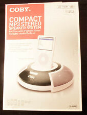 Coby Compact Ipod & MP3 Speaker System
