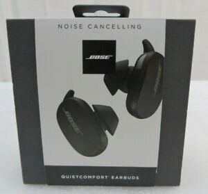 Bose QuietComfort Noise Cancelling Earbuds Black 831262-0010