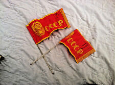 Vintage Small Flag USSR Red Soviet