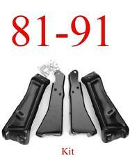 81 87 Chevy Rear Bumper Bracket Kit & Hardware, GMC Truck, Jimmy Blazer Suburban