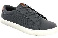 Jack & Jones Sable Trainers Mens Grey Fashion Flat Lace Up Sneakers Pumps Shoes