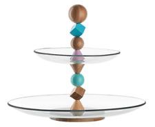 All'aperto Fantastic Quality Cake Stand - 2 Trays - by Leonardo