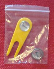 NEW Harrods Golf shop Collectable Metal Golf Ball Marker & pitch repairer, BN