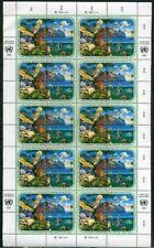 UNO Wien ZD-Bogen MiNr. 110-13 postfrisch/ MNH Umweltschutz (BW2504