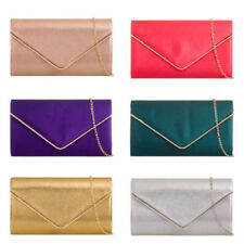 Satin Envelope Clutch Bags & Handbags for Women