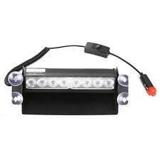 8 LED Strobe Dash/ Deck/ Windscreen Light Bar Beacon A3w1 Yellow
