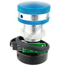 Ultimarc SpinTrak USB Arcade Spinner Unit - Large Flyweight & Blue/Silver Knob