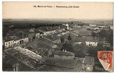 CPA 54 - MARS LA TOUR (Meurthe et Moselle) 58. Panorama, côté ouest. pub Hanauer