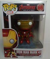 Avengers Age of Ultron Funko POP! Iron Man Mark 43 Vinyl Figure 66 Vaulted