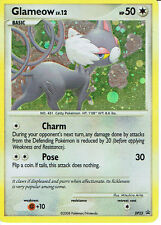 POKEMON PROMOTIONAL CARD NUMBER DP23 OF GLAMEOW, grade 9/10