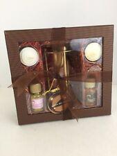 The Body Shop Sugar & Spice Home Fragrance Oil Set Gift Chocolate Orange #61146