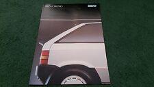 Julio De 1988/1989 Seat Ibiza Crono edición especial-Reino Unido Folleto de carpeta A4