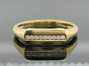 2 Ct Diamond Engagement & Wedding Modernist Ring For Her 14K Yellow Gold Plated