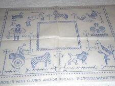 Vintage Embroidery Iron on Transfer - Needlewoman No.141- Animals / Birds