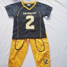 Southern Miss Usm Toddler Football Outfit Jersey 2T