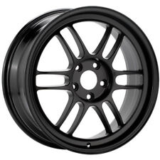 "Enkei RPF1 Wheels (18x9"" 35mm 5x108, SINGLE) BLACK Rim for Focus ST and RS"