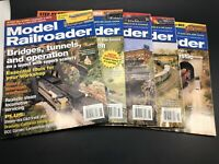 Lot of 5 Issues of Model Railroader Train Magazine 2005  Great Special